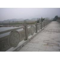 供应德阳广汉铸造石喷砂栏杆 河道桥梁护栏 复合式栏杆