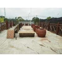 广西优质水泥仿木制品、南宁市水泥仿木栏杆批发