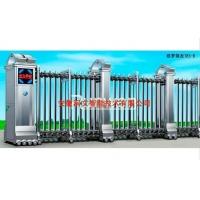 安徽电动门品牌润文欧罗锦龙185-B不锈钢伸缩门