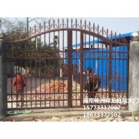 供应锌钢、铝合金庭院大门