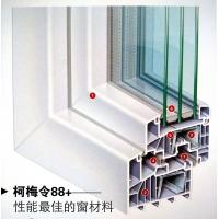 唯一北京辦事處 德國柯梅令塑鋼門窗88系列平開上懸窗 正品保