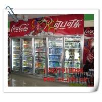 南京哪里有五门展示冷藏冰柜,无锡超市六饮料冻柜