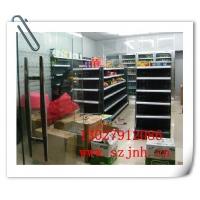 南京哪里超市,便利店双面背板货架,无锡药店单面背网货架