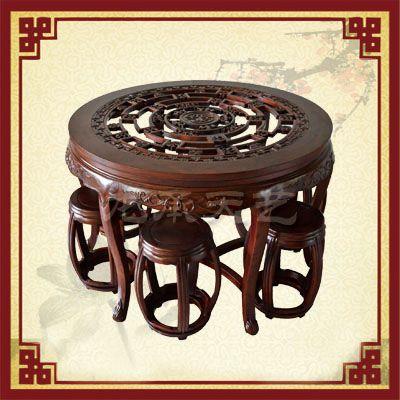 榆木餐桌私人订制,就选天艺古典家具
