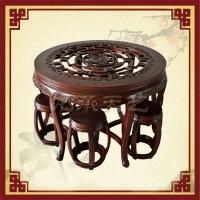 榆木餐桌哪家好就找天艺古典家具