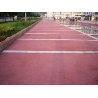 彩色透水地坪,压花地坪海绵城市透水铺装材料施工