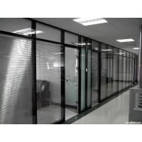 北京铝合金玻璃隔断,单玻隔断双玻百叶隔断,专业高隔墙