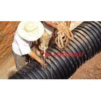 供应越财HDPE双壁波纹管厂家