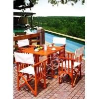 酒店双人桌椅 餐厅桌椅-XD-A8010-棕色