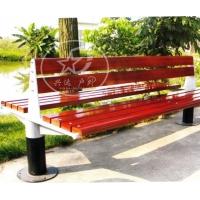 休闲长椅 户外椅 公园长椅-XD-F8006-酒红色