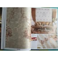 高端壁然美刺绣墙布客厅沙发背景墙防水防尘防污墙布