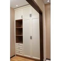 仿木纹全铝推拉门衣柜移门衣柜 全铝衣柜材料