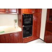全铝家居欧式橱柜门全铝合金家具仿木纹橱柜门型材全铝边框门芯板