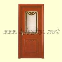 新型豪华实木复合烤漆门