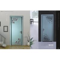 不锈钢框架钢化全玻璃定制室内一体门
