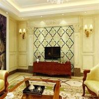 上海皮雕厂家SKY-1016莫尼卡刺绣镶嵌硬包背景墙厂家