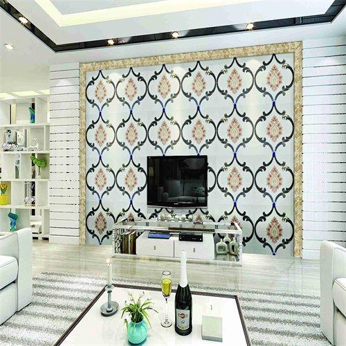 佛山莫尼卡SKY-1020刺绣镶嵌软包硬包艺术背景墙