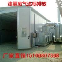 推荐汽车烤漆房废气处理设备 活性炭废气净化器