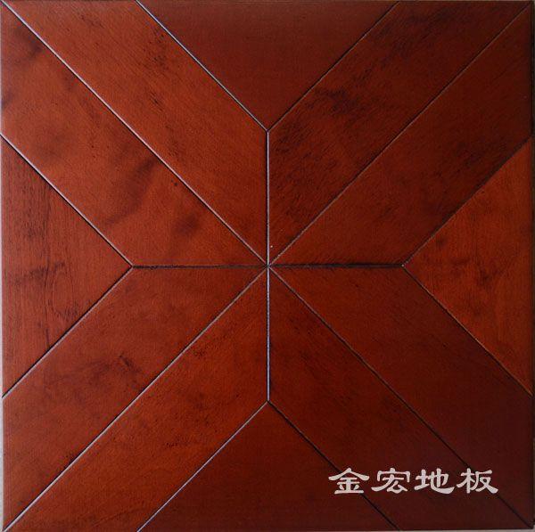 南京仿古拼花地板-金宏地板