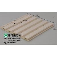 郑州生态木绿可木塑木150吸音板练歌房吸音板装修材料