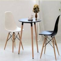 伊姆斯椅子 休闲木腿椅子  餐厅椅子 咖啡店椅子