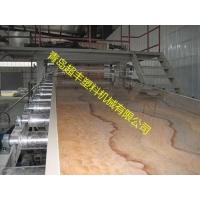 仿大理石板材设备 PVC石塑装饰板材生产线