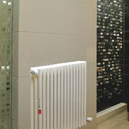 钢制三柱采暖散热器
