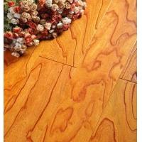 实木复合地板 榆木浮雕地板 榆木仿古地板 榆木地板
