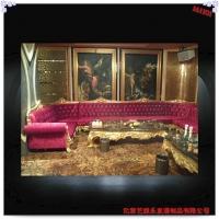 亿家艺KTV欧式沙发外架 玻璃钢树脂外架
