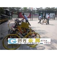 共享单车自行车雕塑