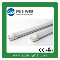 云川超亮0.6米室内格栅式T8LED节能日光灯管9W