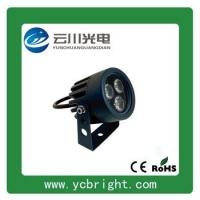 景观亮化圆形LED户外射灯3W投光灯