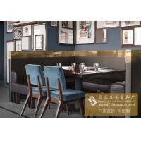 广东大理石现代餐桌 北欧家具实木成套餐桌椅
