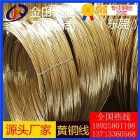 H62黄铜方线 高质量黄铜线 螺丝用黄铜线 H65软黄铜丝