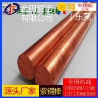 TUO磷脱氧铜棒 大规格紫铜棒 c11000紫铜棒