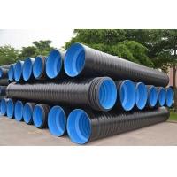 HDPE、PP三层壁复合增强管  市政工程 排水 排污