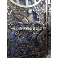 铝合金雕刻工艺屏风,25厘铝板雕刻屏风酒店装饰新品