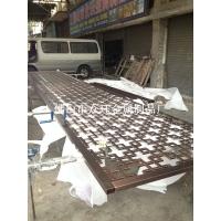 铝合金板雕刻图案屏风