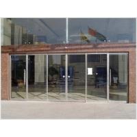 钢化玻璃厂玻璃感应门玻璃门地弹门