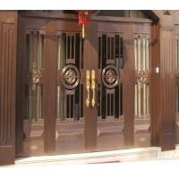 铜门供应铜自动门别墅铜门