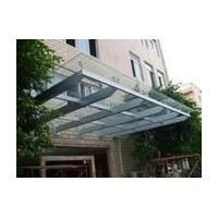 玻璃雨棚制作钢结构雨棚