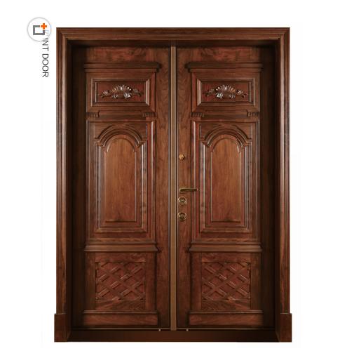 博邦门业 温州市帝郎伽 优质工艺 铸铝门板 安全防盗门