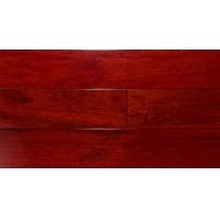 臣信地板-实木地板系列 番龙眼.红檀色