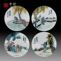 手绘仿古瓷片价格 产量 订购 手绘仿古瓷片