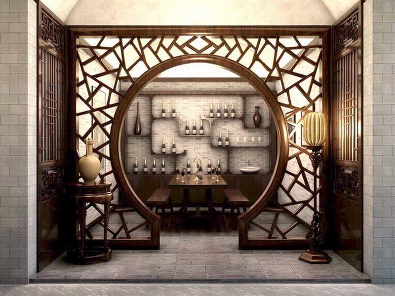 中式品酒室