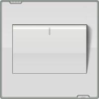 供应豪意神龙系列真空镀铬边框开关插座