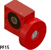 蜗轮蜗杆减速箱PF15系列