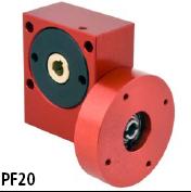 英国ondrives蜗轮蜗杆减速箱PF20系列