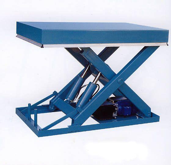 山东聊城固定剪叉式升降机 液压升降台图片
