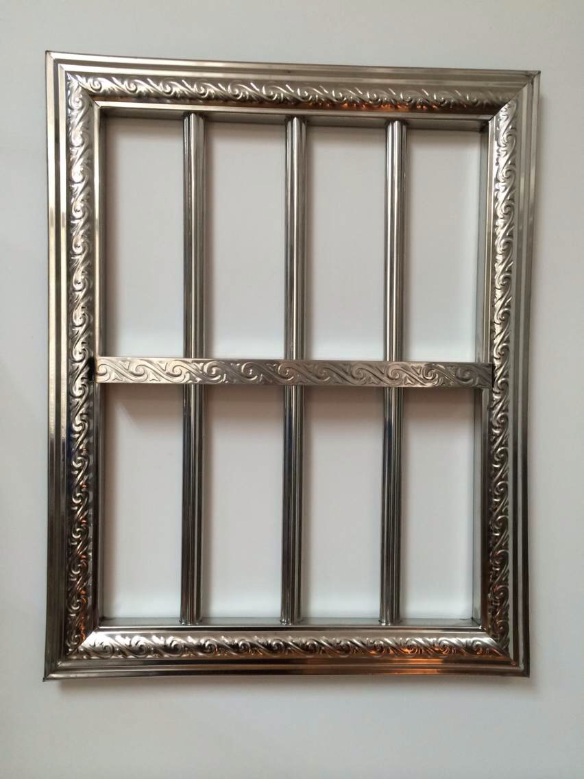 新款不锈钢梅花管、不锈钢包边材料、新款防盗窗
